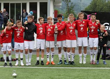 79b07072 Stryn kom på 2. plass i klasse G13/14 etter å ha tapt finalen mot Vikane på  straffesparkkonkurranse.