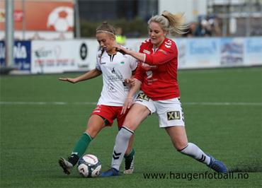 d13d0aca Marte Skjerven scora tre mål for Jotun i dagens 5-1 seier mot TMFK. Bildet  er frå Jotun sin bortekamp mot Stryn 9. mai.