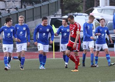a2a3f12b Tornado Måløy møter i dag Stryn på Måløy Stadion. Bildet er frå 3-2 seieren  mot Florø 2 på Måløy Stadion 28. mai. Sjå bilder og fakta frå denne kampen
